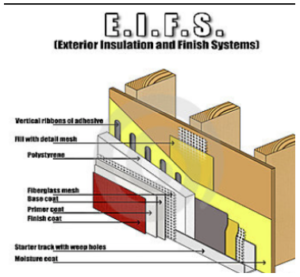 EIFS construction